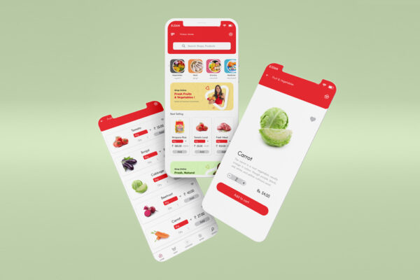 Grocery mobile apps development